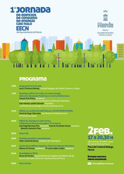 VIOS Energía participó en la realización de la 1ª Jornada de Eficiencia Energética en Edificación en Murcia